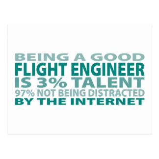 Flight Engineer 3% Talent Postcard