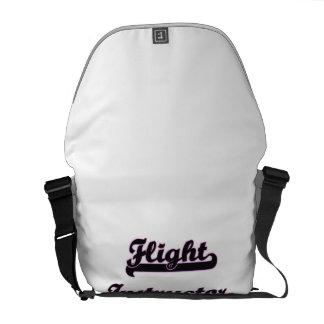 Flight Instructor Classic Job Design Courier Bags