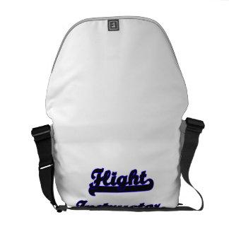 Flight Instructor Classic Job Design Messenger Bag