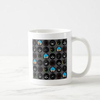 Flight Instruments Coffee Mug
