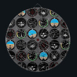"Flight Instruments Dartboard With Darts<br><div class=""desc"">All the flight instruments you need to fly!</div>"