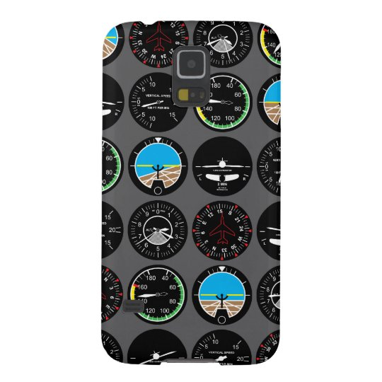 Flight Instruments Galaxy S5 Cover