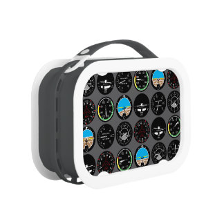 Flight Instruments Lunch Box