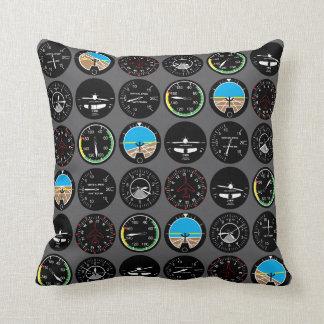 Flight Instruments Pillow