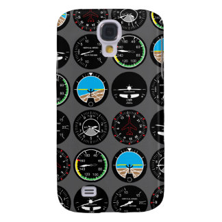 Flight Instruments Samsung Galaxy S4 Covers