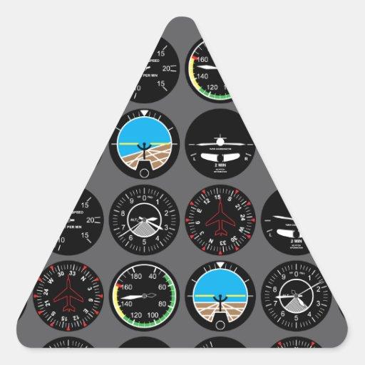 Flight Instruments Stickers