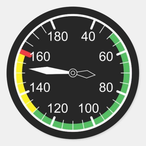 Flight Instruments Sticker