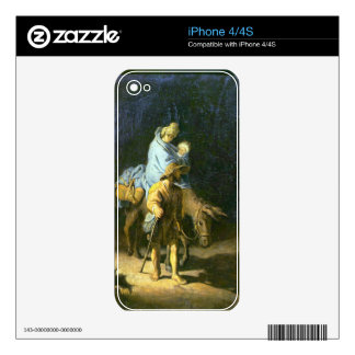 Flight into Egypt by Rembrandt Decal For The iPhone 4