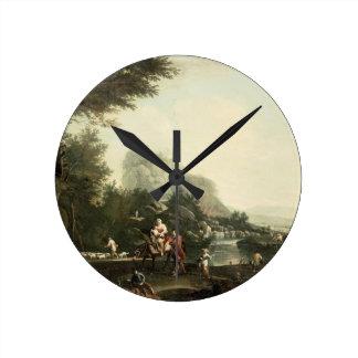 Flight into Egypt Round Clock