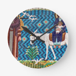 Flight Into Egypt Round Clock
