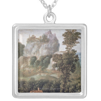 Flight into Egypt Silver Plated Necklace