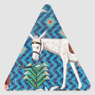Flight Into Egypt Triangle Sticker