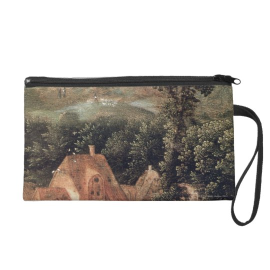 Flight into Egypt Wristlet Purse