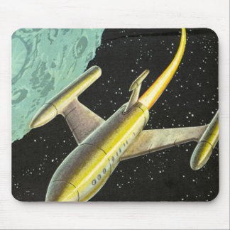 Flight into Space Mousepad