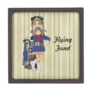 Flight Lessons or Pilot Training Fund - Keepsake Box