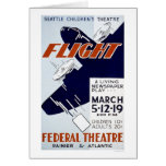Flight Newspaper Play 1940 WPA