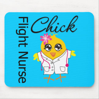 Flight Nurse Chick v2 Mouse Pad
