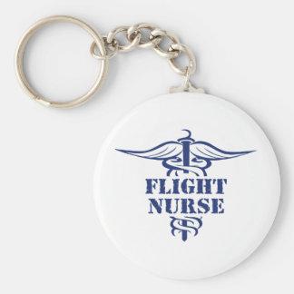 flight nurse keychain