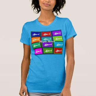 Flight Nurse Pop Art T-Shirts