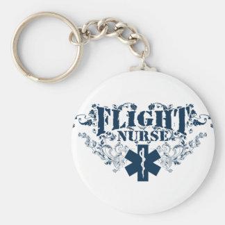 Flight Nurse Style Keychain