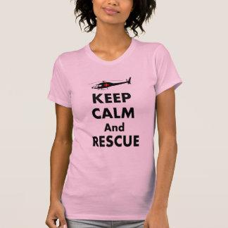 Flight Nurse T-Shirt Keep Calm