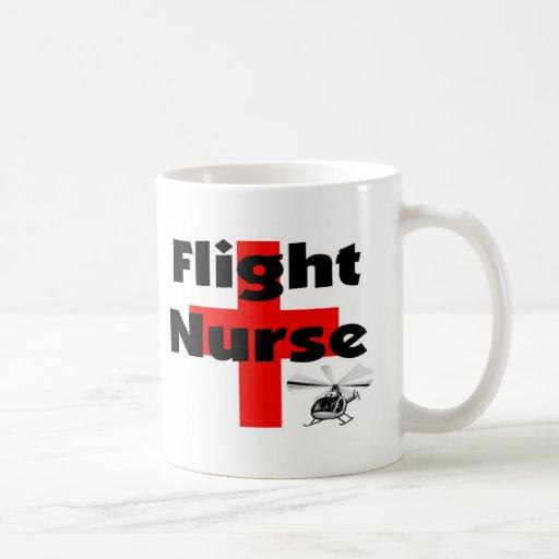 """Flight Nurse"" Unique Gift Ideas Coffee Mug"