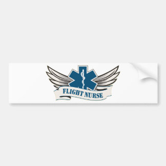flight nurse wings bumper stickers