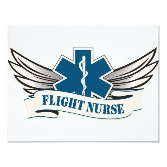 flight nurse wings card