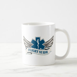 flight nurse wings coffee mug