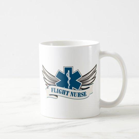 flight nurse wings coffee mug