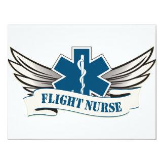 flight nurse wings invite