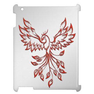 Flight of A Phoenix Silver iPad Cases