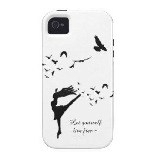 Flight of Dance Case-Mate iPhone 4 Case