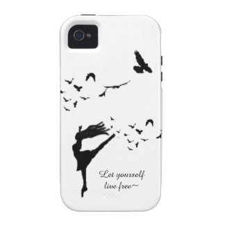 Flight of Dance Case For The iPhone 4