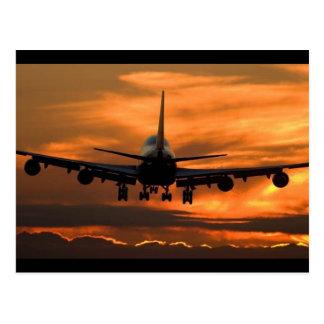 Flight of Facy Postcard