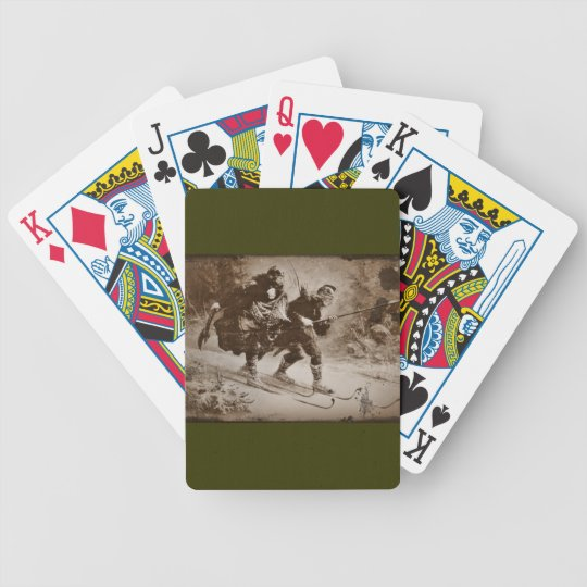 Flight of Infant King (3) Bicycle Playing Cards