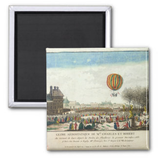 Flight of Jacques Charles  and Nicholas Robert Magnet