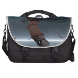 Flight of Red Dragons over the Sea Commuter Bag