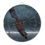 Flight of Red Dragons over the Sea Dart Board