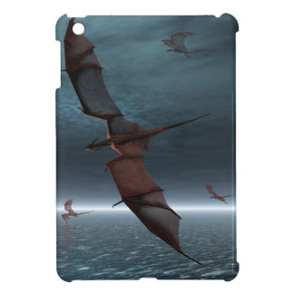 Flight of Red Dragons over the Sea iPad Mini Case