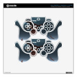 Flight of Red Dragons over the Sea Skins For PS3 Controllers