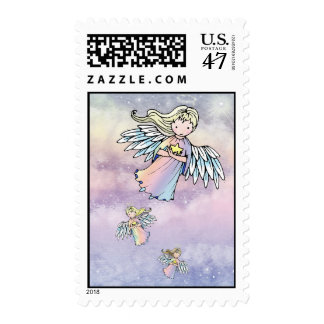 Flight of the Angels Holiday Stamps Postage