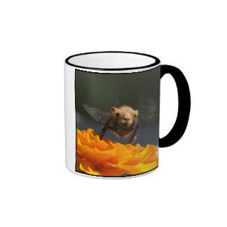 Flight of the Bumblecamel Ringer Coffee Mug