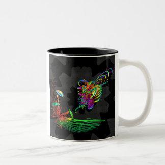 Flight of the Bumblee Two-Tone Coffee Mug