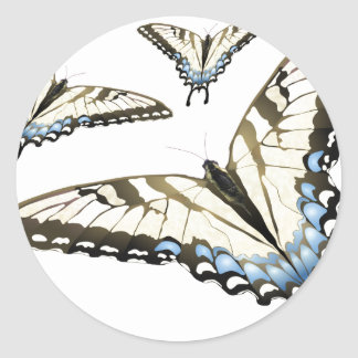 Flight of the Butterfly Classic Round Sticker