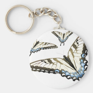 Flight of the Butterfly Basic Round Button Keychain