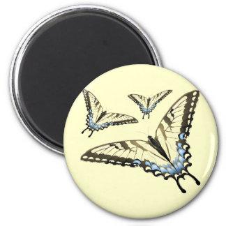 Flight of the Butterfly Refrigerator Magnet