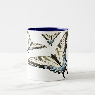 Flight of the Butterfly Two-Tone Coffee Mug