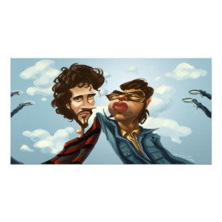 Flight of the Concords Caricature Photo Print