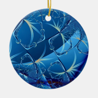 Flight of the Dragonflies Ceramic Ornament